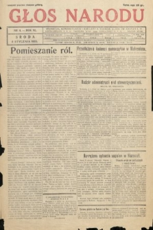 Głos Narodu. 1933, nr4