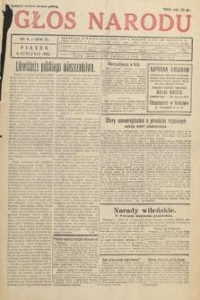Głos Narodu. 1933, nr6