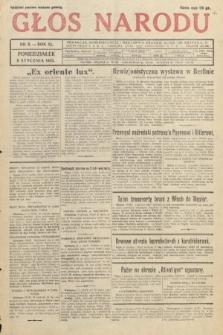 Głos Narodu. 1933, nr8