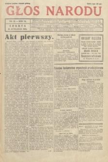 Głos Narodu. 1933, nr13