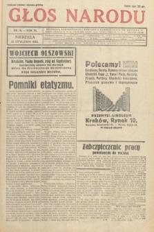 Głos Narodu. 1933, nr14