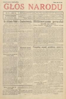 Głos Narodu. 1933, nr15