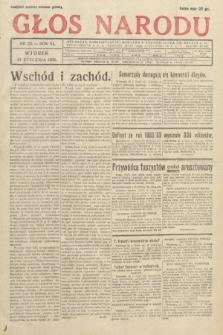 Głos Narodu. 1933, nr23