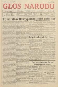 Głos Narodu. 1933, nr25
