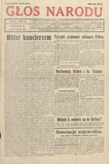 Głos Narodu. 1933, nr31