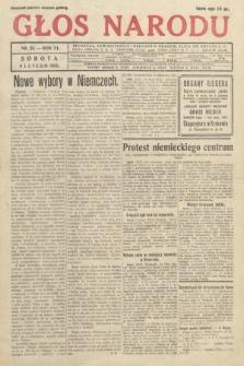 Głos Narodu. 1933, nr33