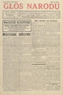 Głos Narodu. 1933, nr34