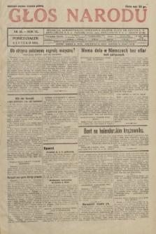 Głos Narodu. 1933, nr35