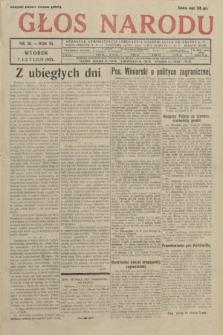 Głos Narodu. 1933, nr36