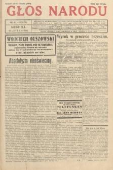 Głos Narodu. 1933, nr41