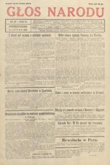Głos Narodu. 1933, nr42