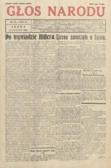 Głos Narodu. 1933, nr44