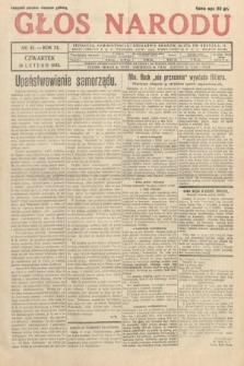 Głos Narodu. 1933, nr45