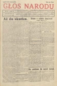 Głos Narodu. 1933, nr47