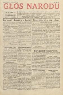 Głos Narodu. 1933, nr49