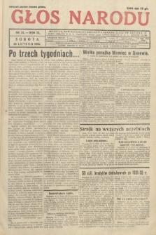Głos Narodu. 1933, nr54