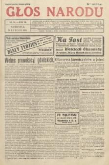 Głos Narodu. 1933, nr55