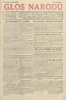 Głos Narodu. 1933, nr56