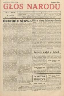 Głos Narodu. 1933, nr57