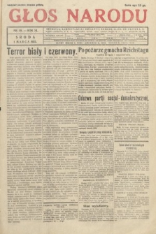 Głos Narodu. 1933, nr58