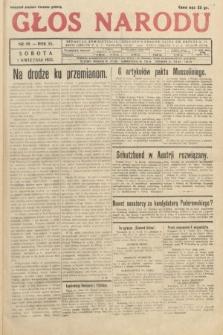 Głos Narodu. 1933, nr89