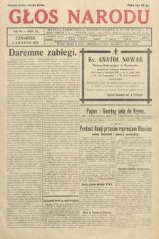 Głos Narodu. 1933, nr94