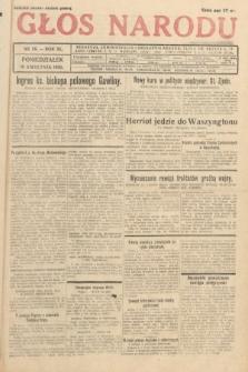 Głos Narodu. 1933, nr98
