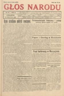 Głos Narodu. 1933, nr101