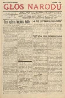 Głos Narodu. 1933, nr102