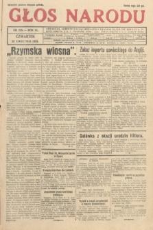 Głos Narodu. 1933, nr105
