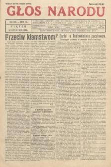 Głos Narodu. 1933, nr106