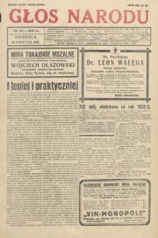 Głos Narodu. 1933, nr108