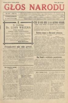 Głos Narodu. 1933, nr109