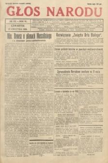 Głos Narodu. 1933, nr112