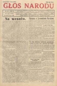 Głos Narodu. 1933, nr113