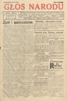 Głos Narodu. 1933, nr135