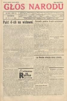 Głos Narodu. 1933, nr138