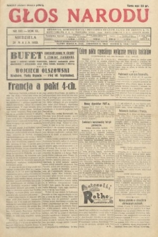 Głos Narodu. 1933, nr142
