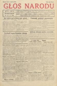 Głos Narodu. 1933, nr143