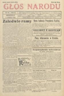 Głos Narodu. 1933, nr149