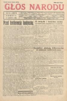 Głos Narodu. 1933, nr154