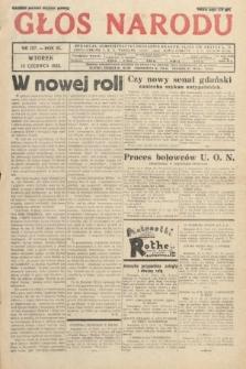 Głos Narodu. 1933, nr157