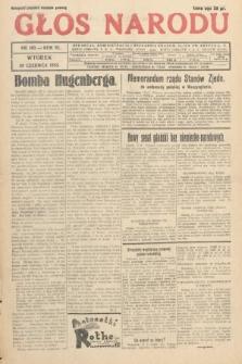 Głos Narodu. 1933, nr163