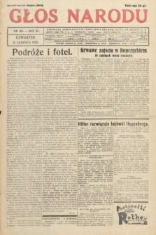 Głos Narodu. 1933, nr165