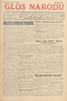 Głos Narodu. 1933, nr167
