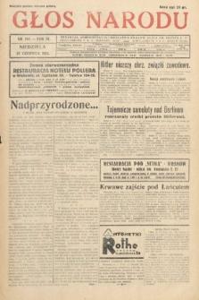 Głos Narodu. 1933, nr168