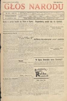 Głos Narodu. 1933, nr169