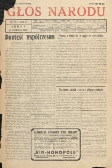 Głos Narodu. 1933, nr171