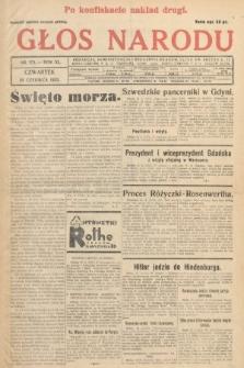 Głos Narodu. 1933, nr172