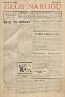Głos Narodu. 1933, nr173